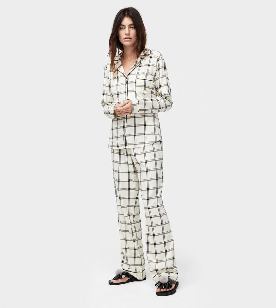 Raven Plaid PJ Set - Image 1 of 5