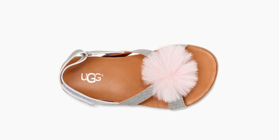 Fonda Glitter Pom Sandal - Image 5 of 6