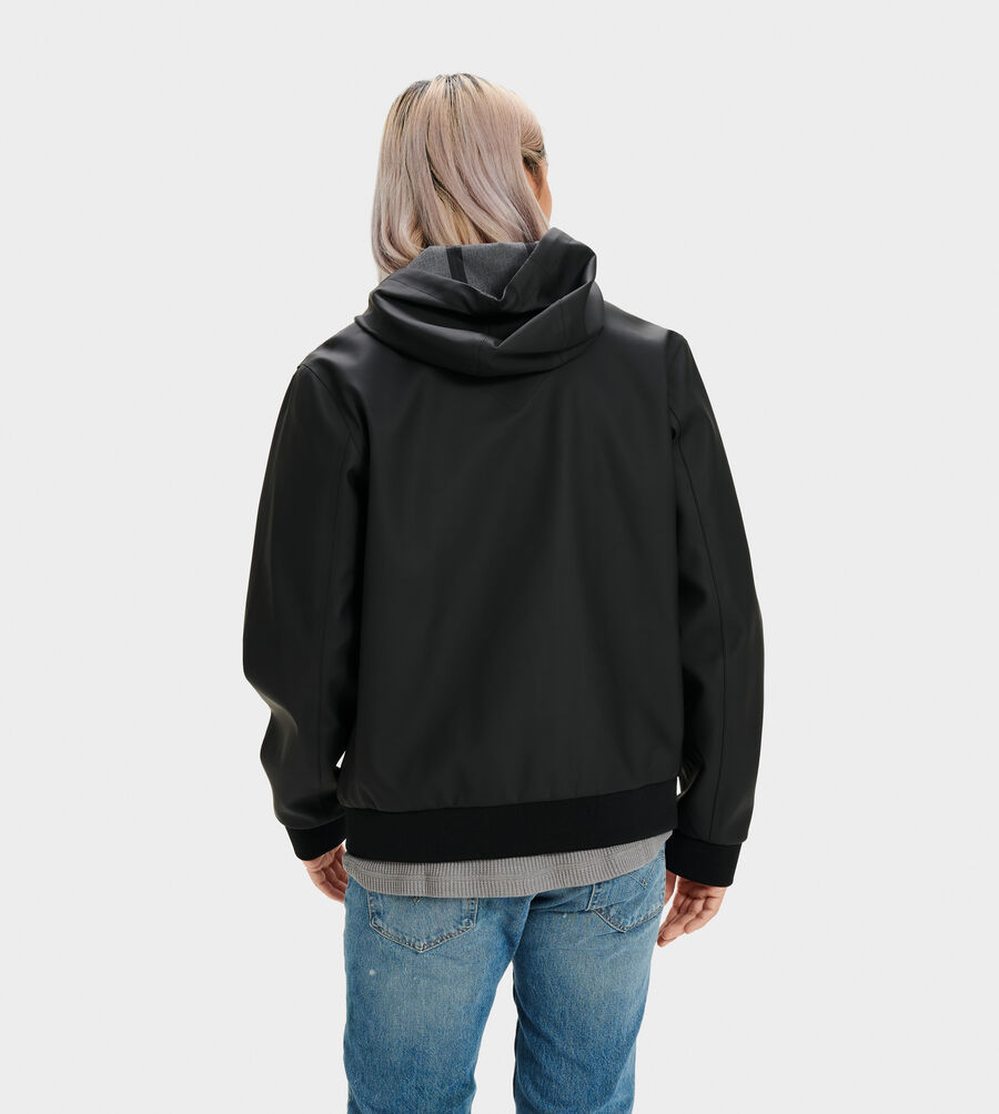 Diego Rubberized Hoodie - Image 2 of 4