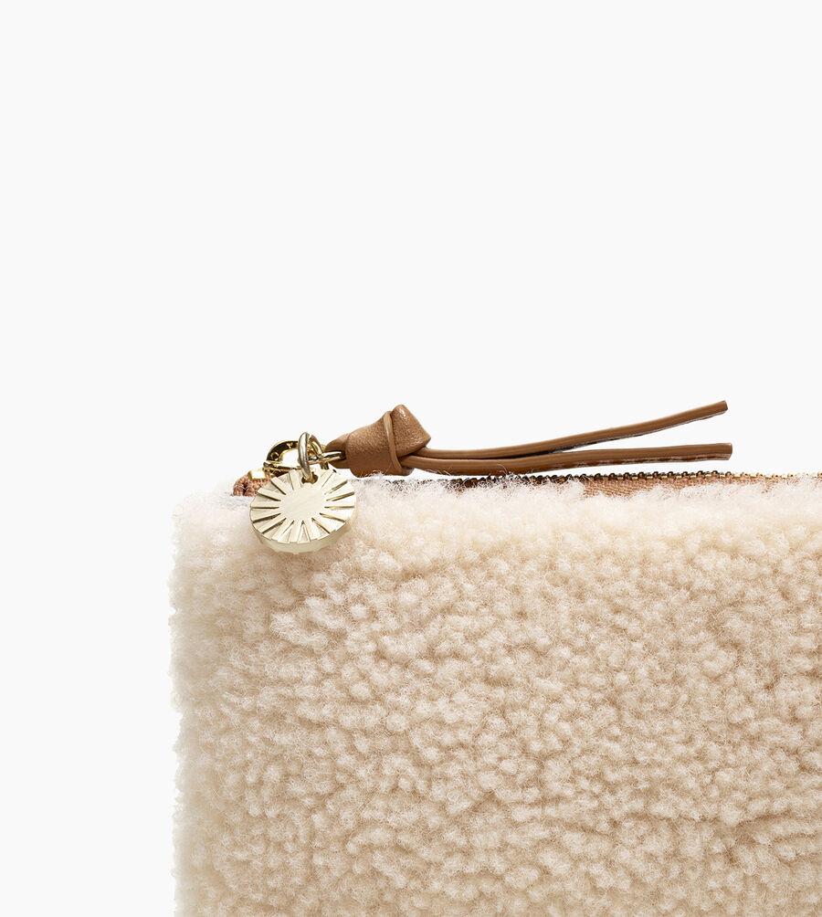 Medium Sheepskin Zip Pouch - Image 5 of 5