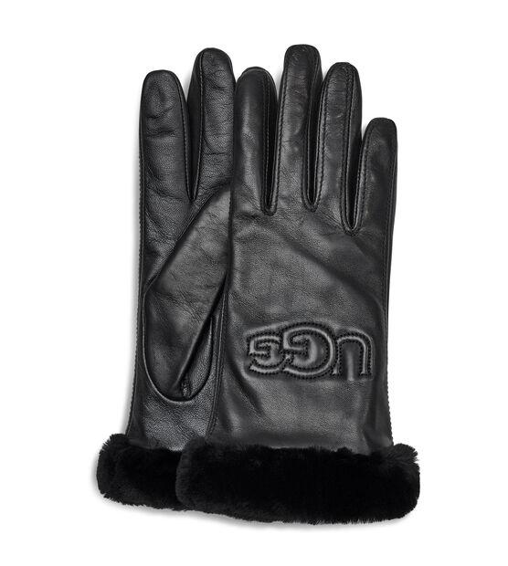 Classic Leather Logo Glove