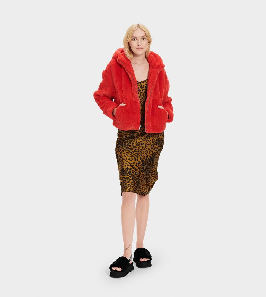 Mandy Faux Fur Hoodie - Image 5 of 5