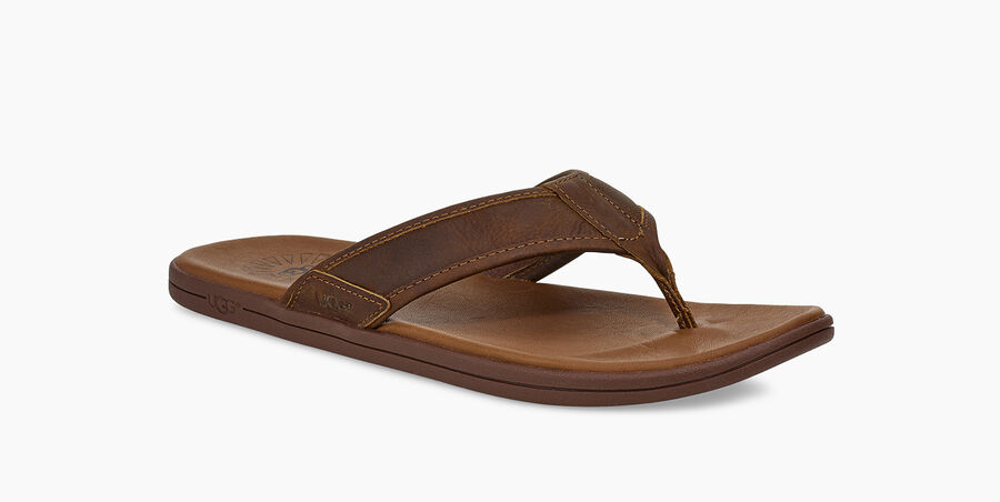 Seaside Leather Flip Flop - Image 2 of 6