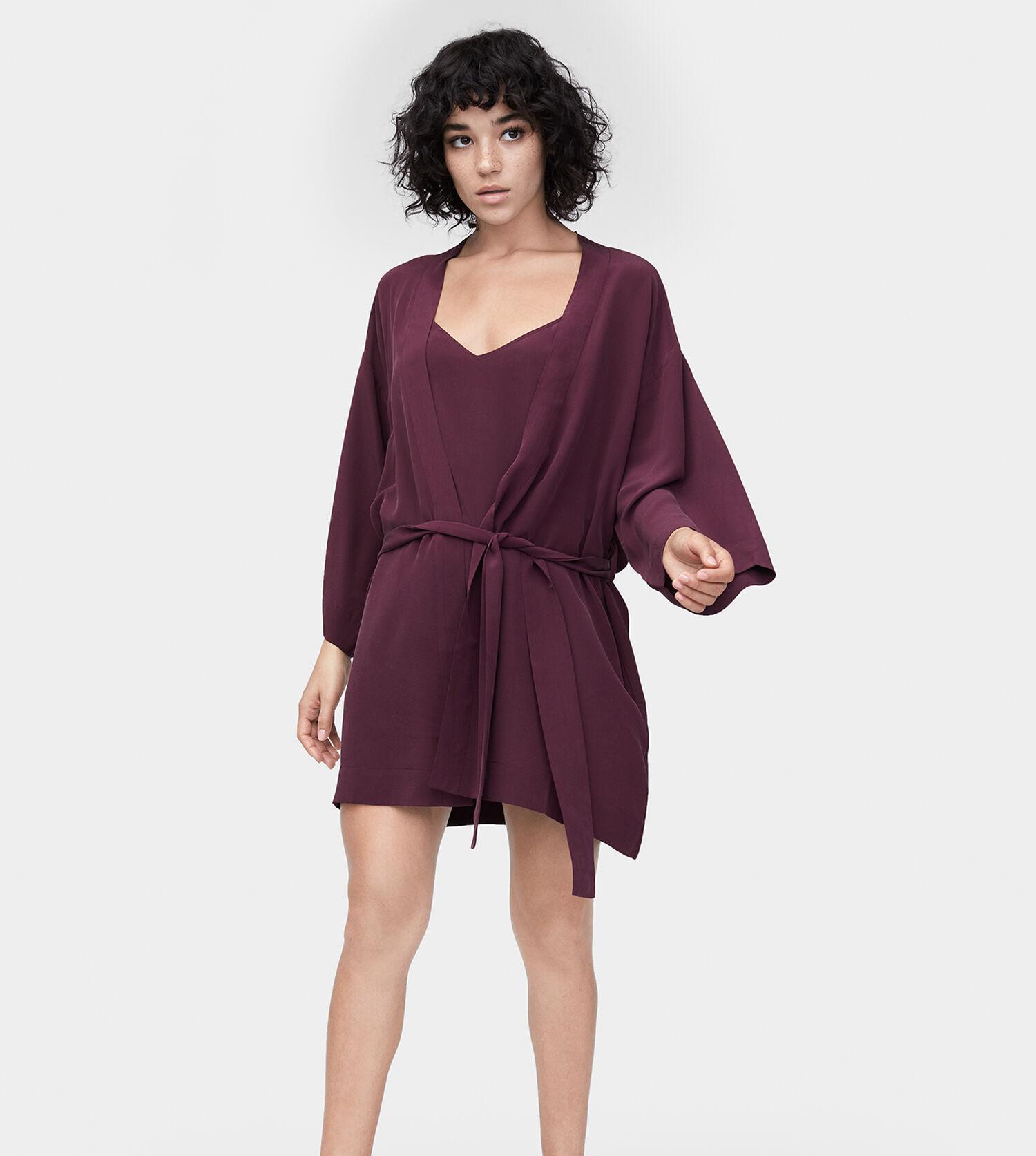 1e27e7ce709a Zoom Lolla Silk Robe - Image 1 of 4