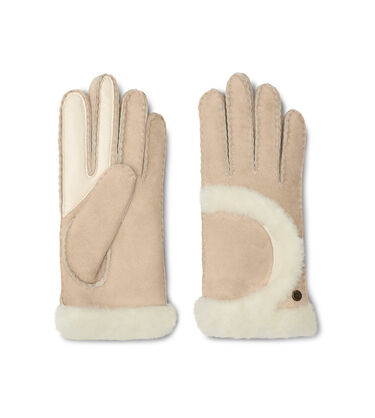 Sheepskin Exposed Seam Glove Alternative View