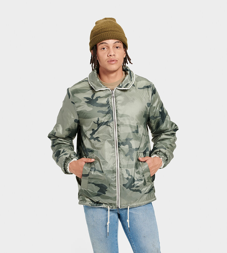 Mace Reversible Sherpa Jacket - Image 1 of 6