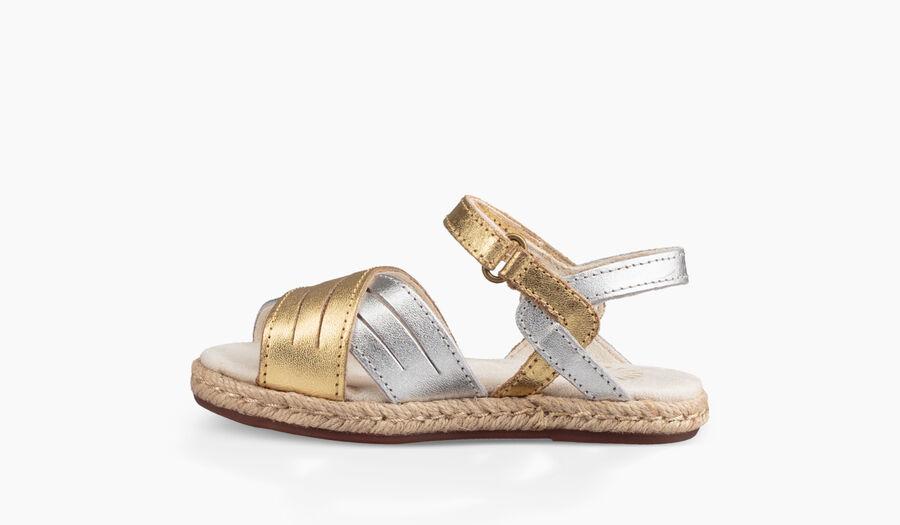Addilyn Metallic Sandal - Image 3 of 6