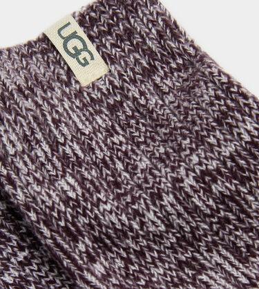 Rib Knit Slouchy Crew Sock Alternative View