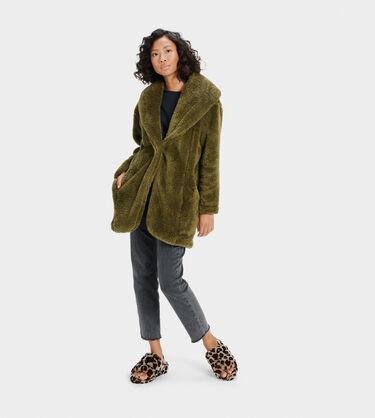 Annona Sherpa Travel Cardigan