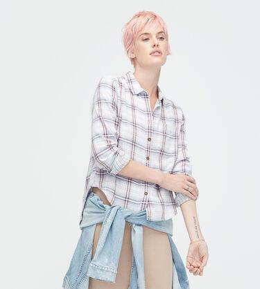Crisscross Woven Shirt