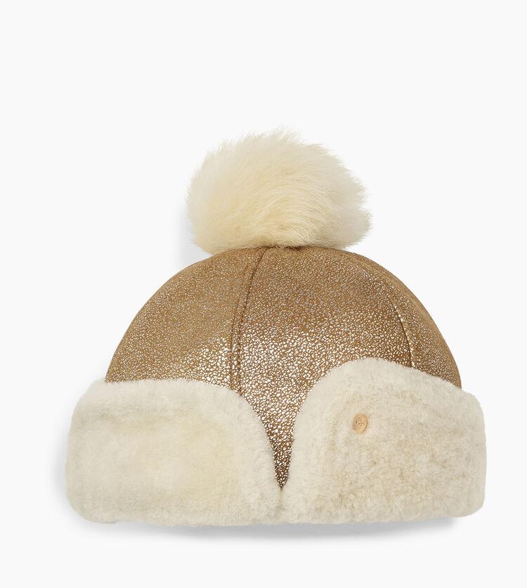 Sheepskin Pom Hat