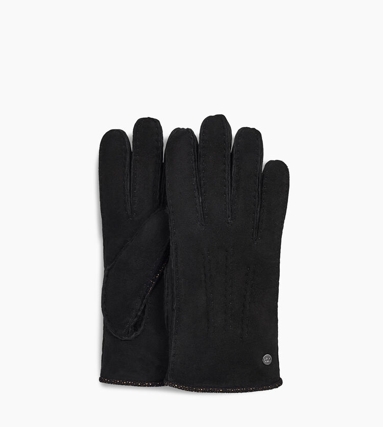 Sheepskin and Leather Mixed Glove