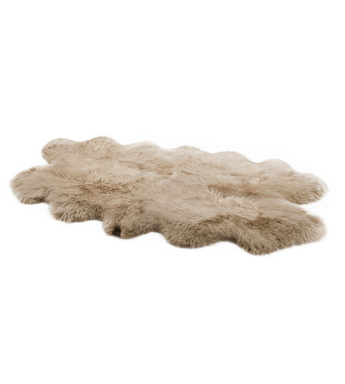 UGG Area Rug-Quarto This luxurious sheepskin rug adds a chic and modern update to any space. UGG Area Rug-Quarto