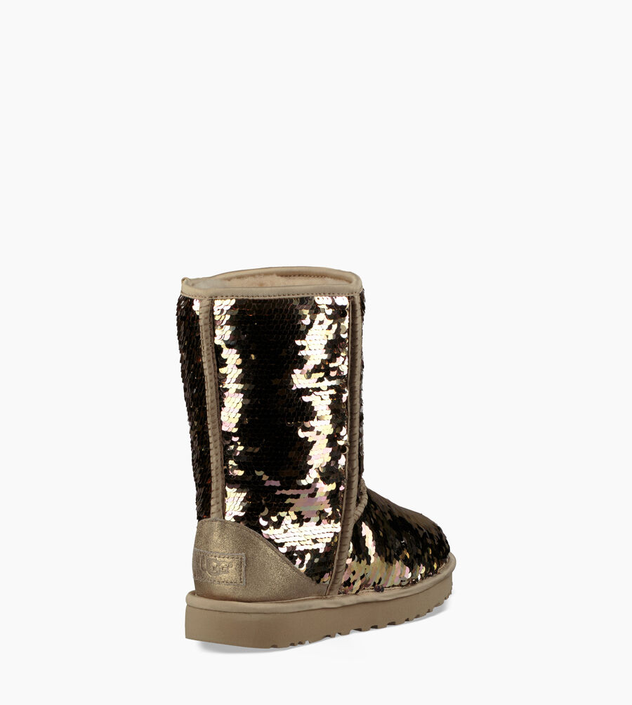 Classic Short Sequin Boot - Image 6 of 8