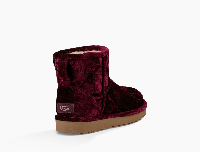 318e58bbebcf ... Women Shoes,ugg mini bailey button,No Sale Zoom Classic Mini Crushed  Velvet - Image 4 of 6 ...