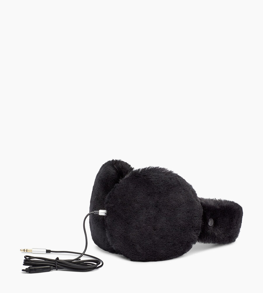 Exposed Sheepskin Earmuff - Image 1 of 2