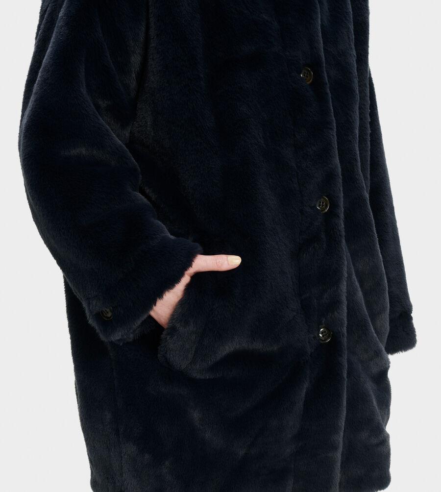 Nori Oversized Coat- Faux Fur - Image 4 of 4
