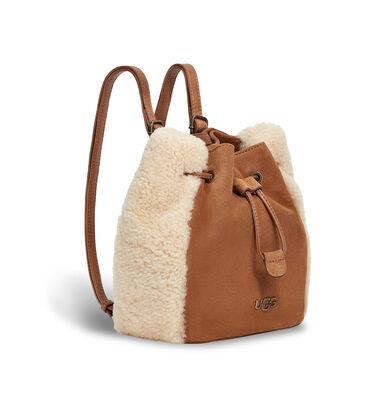 Fey 2 Way Mini Backpack Suede Alternative View