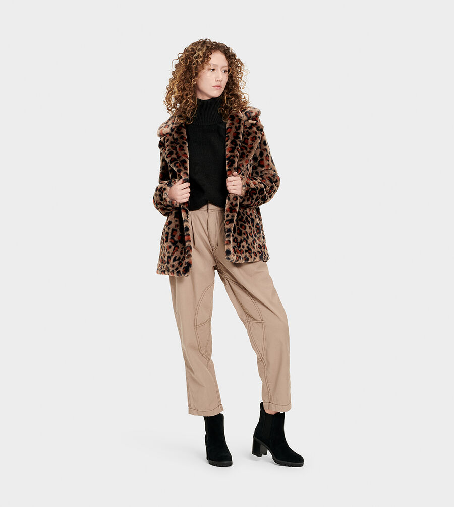 Rosemary Faux Fur Jacket - Image 6 of 6