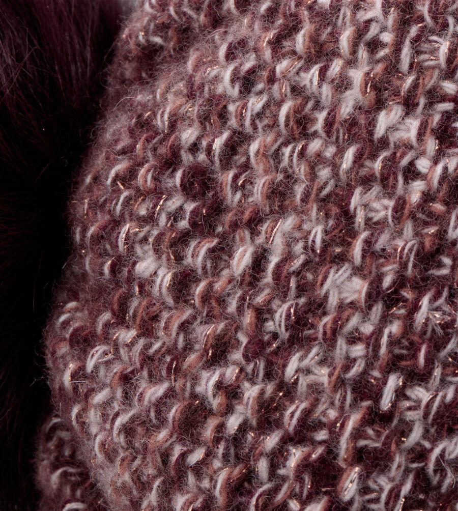 Tri-Pom Cashmere Hat - Image 2 of 2