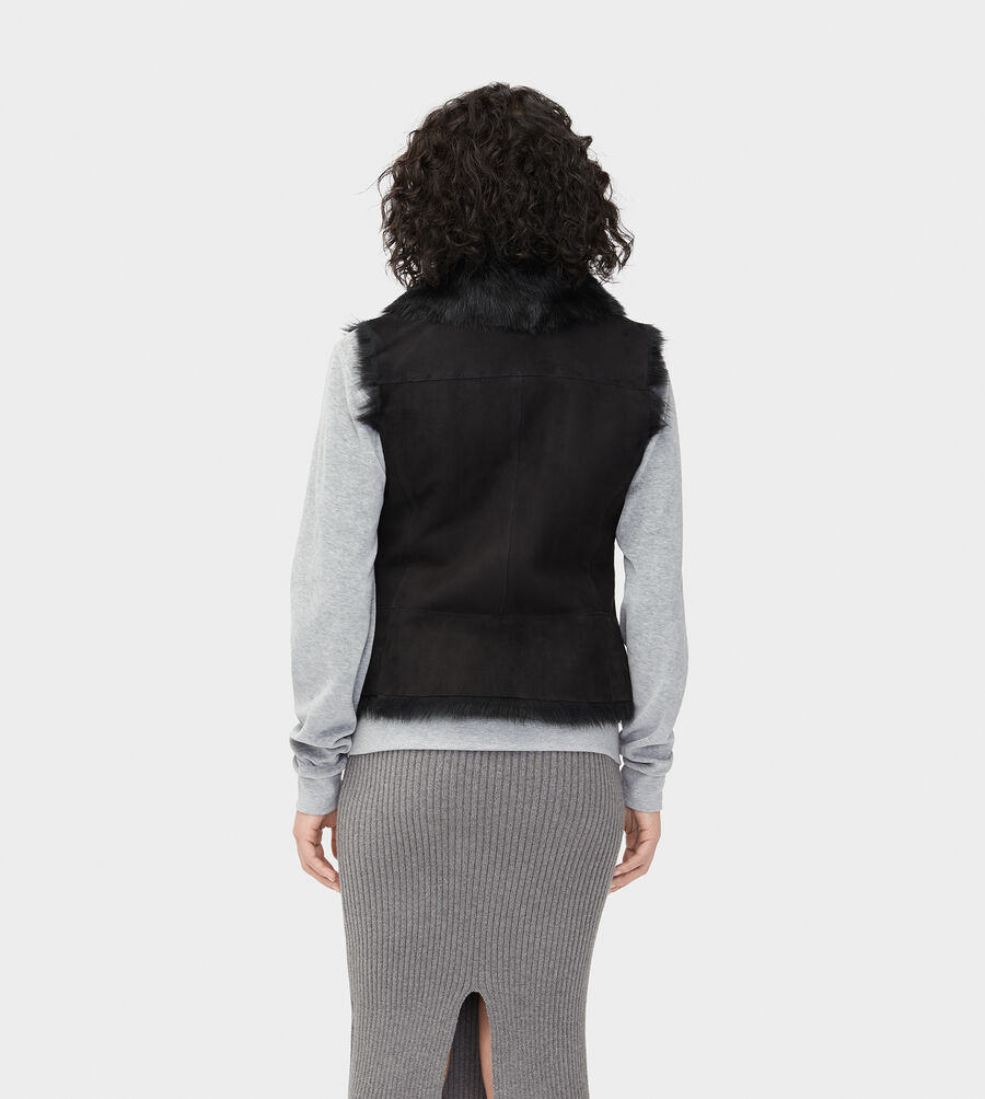 Renee Toscana Shearling Vest  - Image 2 of 6