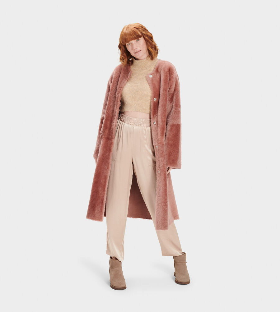 Remy Reversible Shearling Coat - Image 1 of 4
