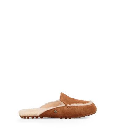 어그 레인 여성 플러피 블로퍼 UGG Lane Slip-On Loafer,CHESTNUT