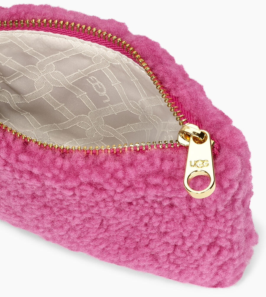 Sheepskin Small Zip Pouch  - Image 4 of 5