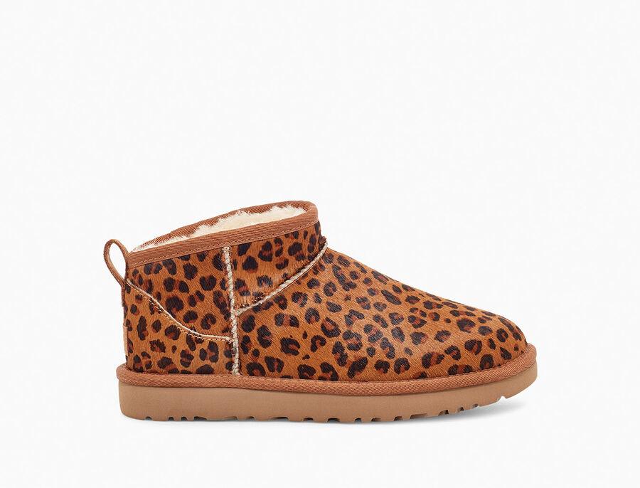 Classic Ultra Mini Leopard Boot   UGG®