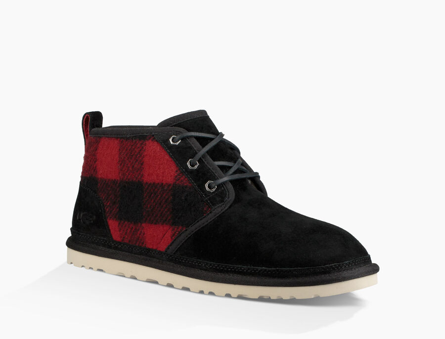 Men S Neumel Plaid Ugg 174 Official Ugg Com