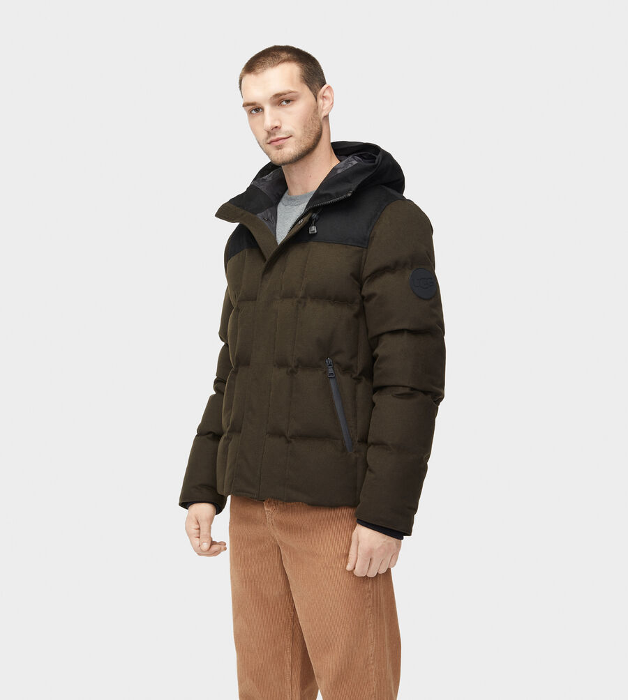 Cadin Hip-Length Wool Parka - Image 4 of 7