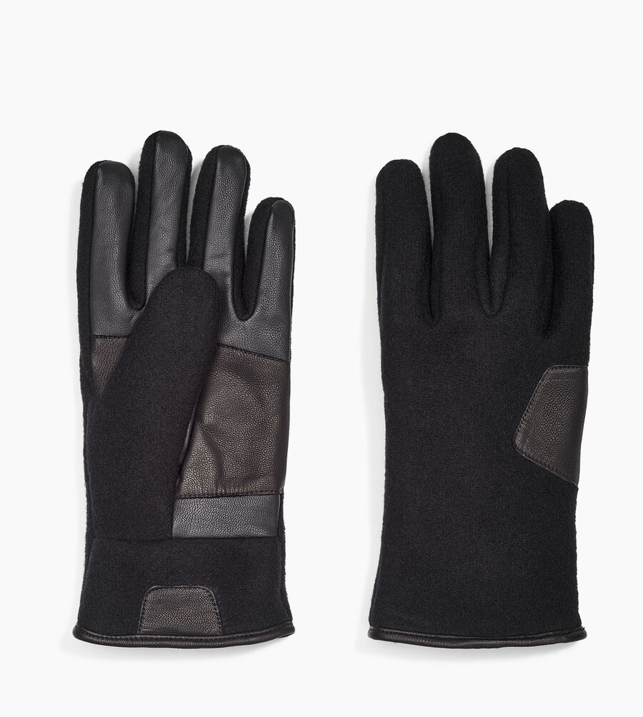 Fabric And Leather Glove - Image 2 of 3