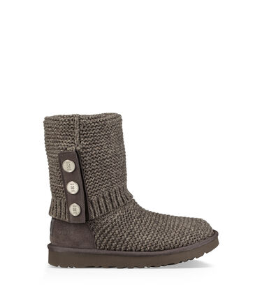 Purl Cardy Knit Boot