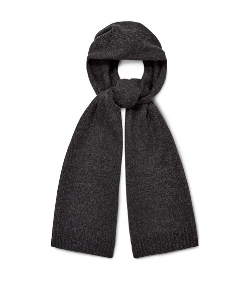 UGG Men's Eastwood Rib Knit Scarf Cashmere Made from ultra-soft 100% cashmere, this cozy scarf features rib-knit edges for extra style points. Pair with any of our other knit winter essentials, from hats to gloves. UGG Men's Eastwood Rib Knit Scarf Cashmere