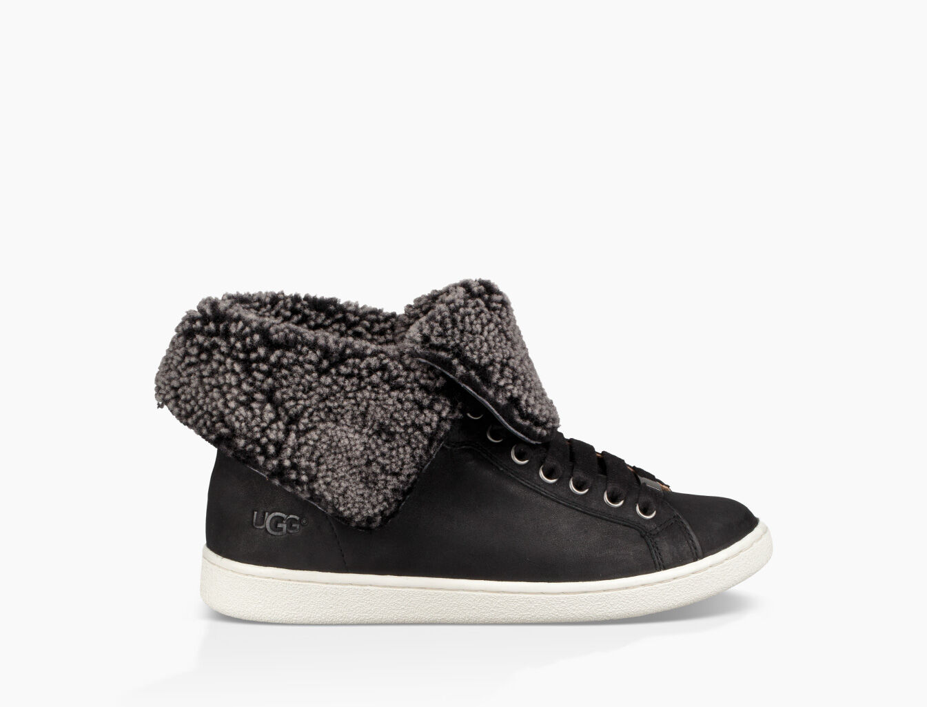 UGG STARLYN - Lace-up boots - black y0yNHfP