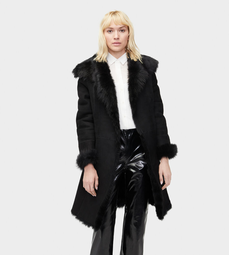Vanesa Toscana Shearling Coat - Image 1 of 6