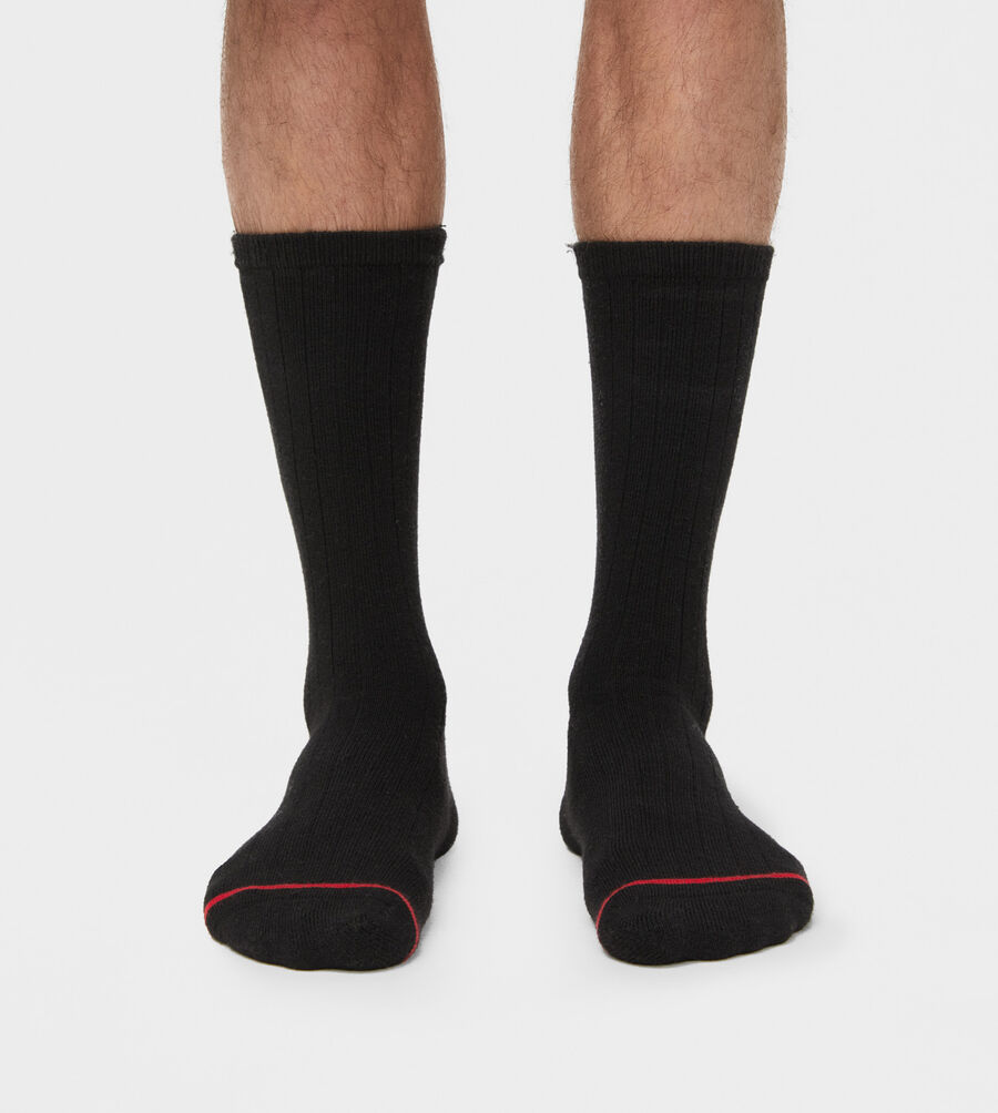 Classic Ribbed Crew Sock - Image 1 of 3