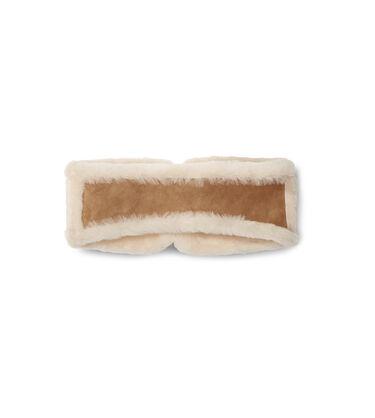 W Suede And Sheepskin Headband