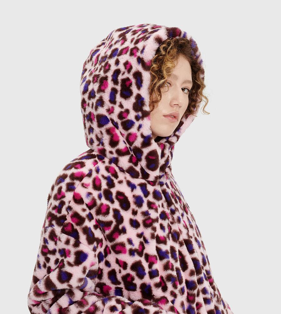 Mandy Faux Fur Hoodie - Image 5 of 6