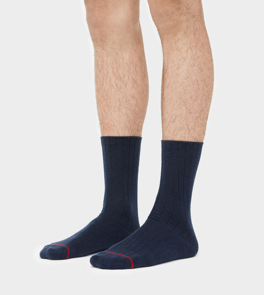 Classic Ribbed Crew Sock - Image 3 of 3