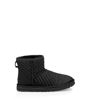 Classic Mini Quilted Satin Boot