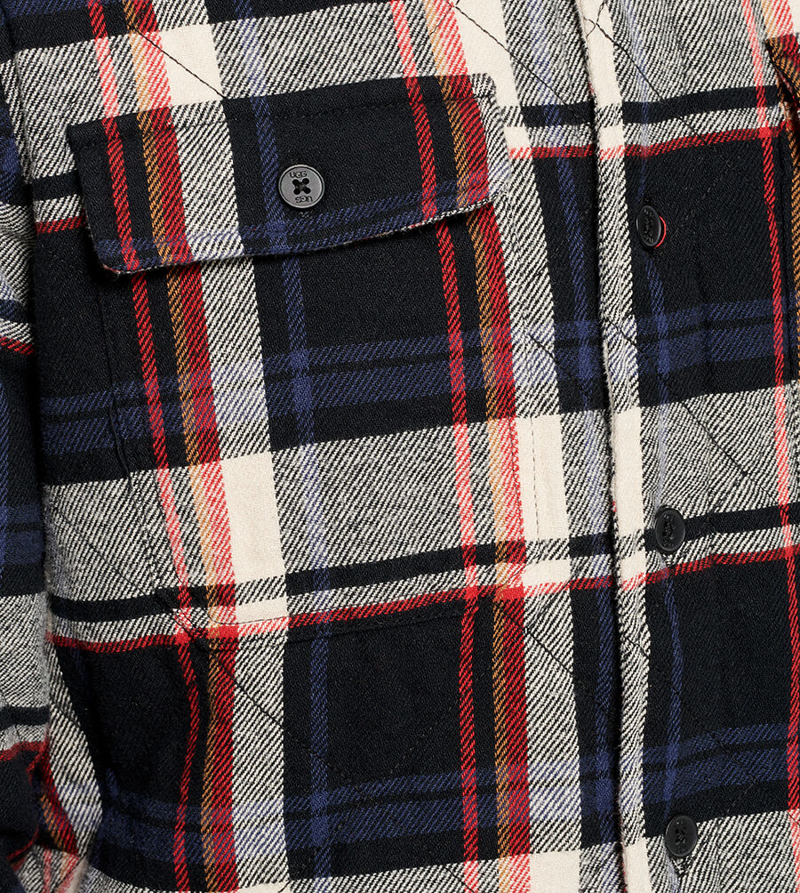Trent Quilted Shirt Jacket Plaid - Image 5 of 6