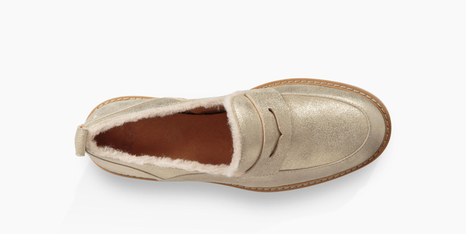 d5bfccba6b4 Zoom Atwater Metallic Loafer - Image 5 of 6