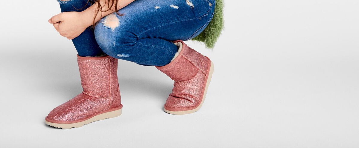 Classic II Short Glitter Boot - Lifestyle image 1 of 1