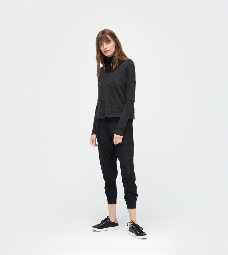 Jersey Knit Long Sleeve Tee - Image 3 of 4