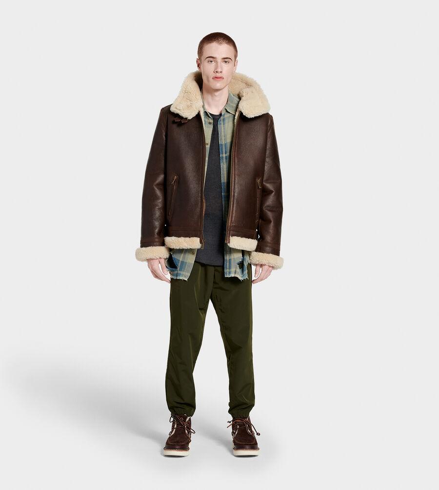 Auden Shearling Aviator Jacket - Image 6 of 6
