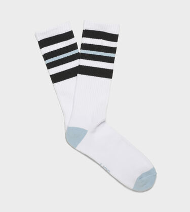 Three Stripe Crew Sock