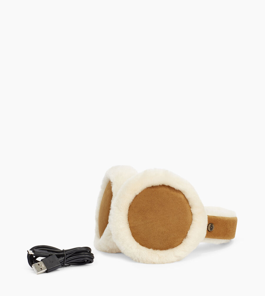 Sheepskin Bluetooth Earmuff - Image 1 of 3