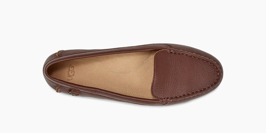 Flores Leather Flat - Image 5 of 6