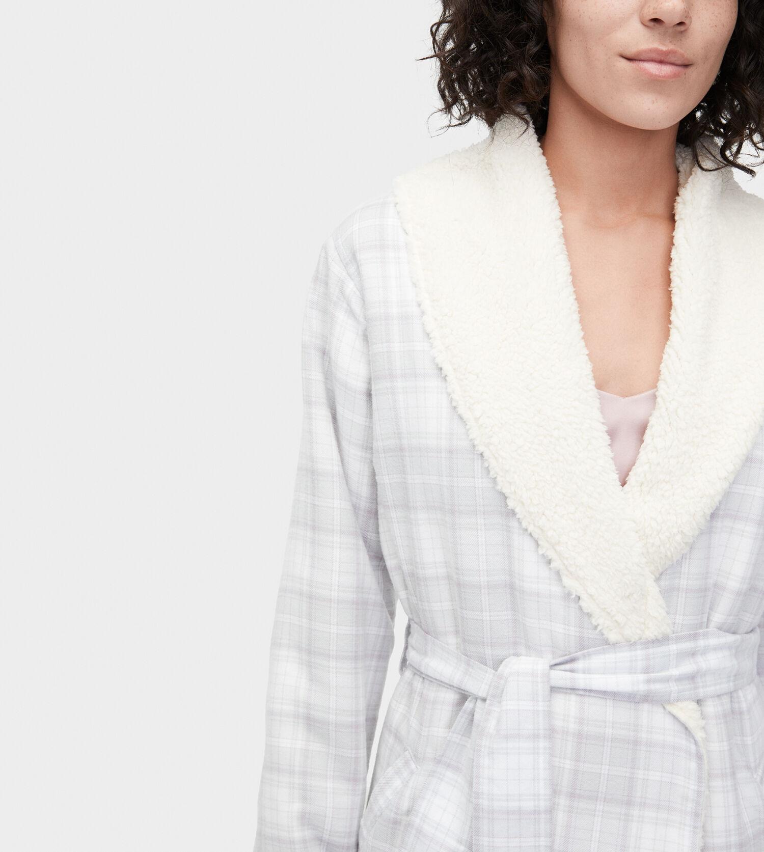 Zoom Anika Flannel Robe - Image 4 of 4 a58f942e9